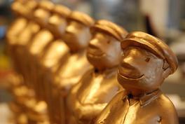 Twa Gouden Gurbes foar Jorwerter Iepenloftspul Tuskentiid